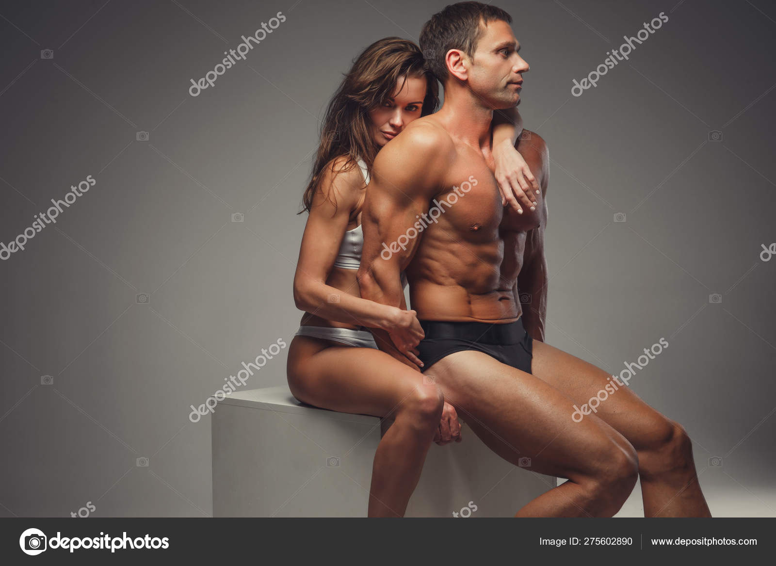 Nude Athletic Couples photo 2