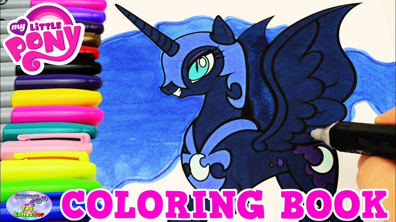 Mlp Coloring Pages Nightmare Moon photo 9