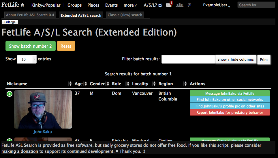 Fetlife User Search photo 20