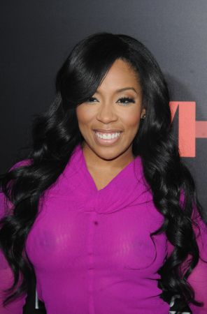 K Michelle See Thru Outfit photo 10