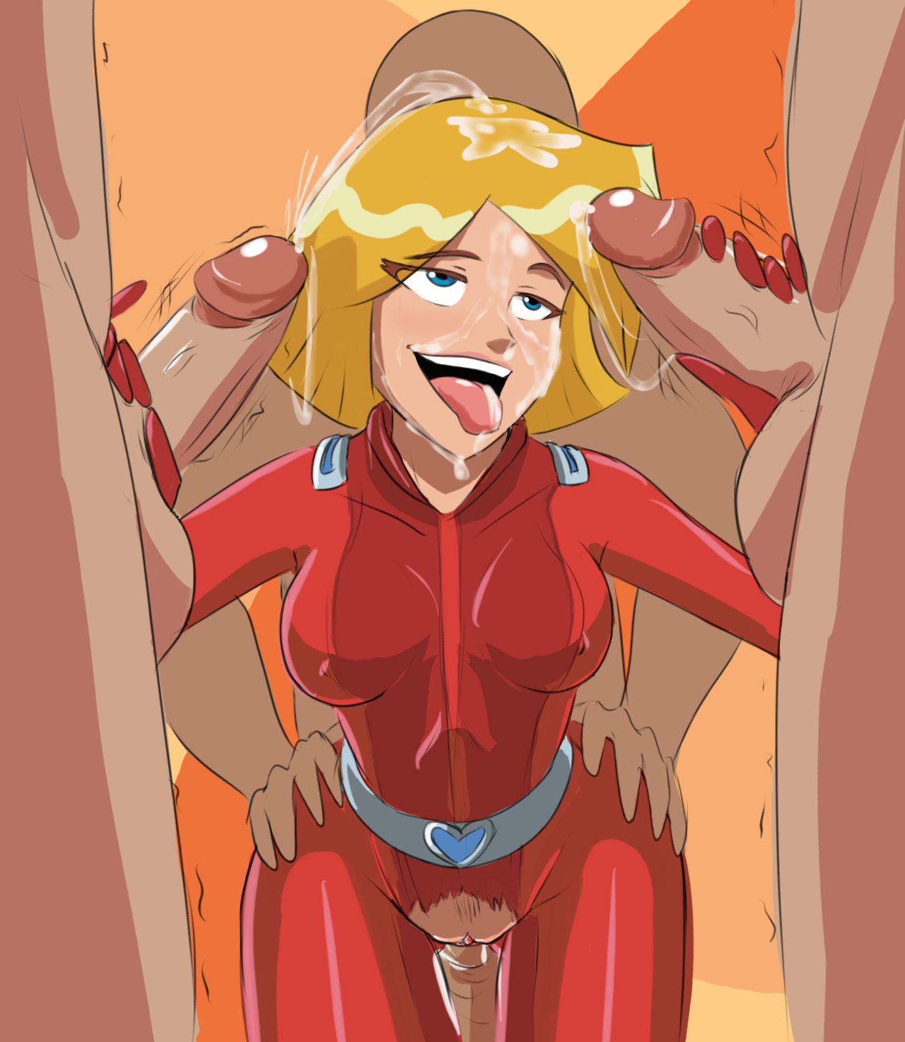 Totally Spies Clover Porn photo 30