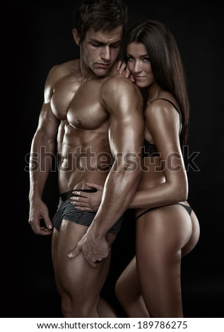 Nude Athletic Couples photo 29