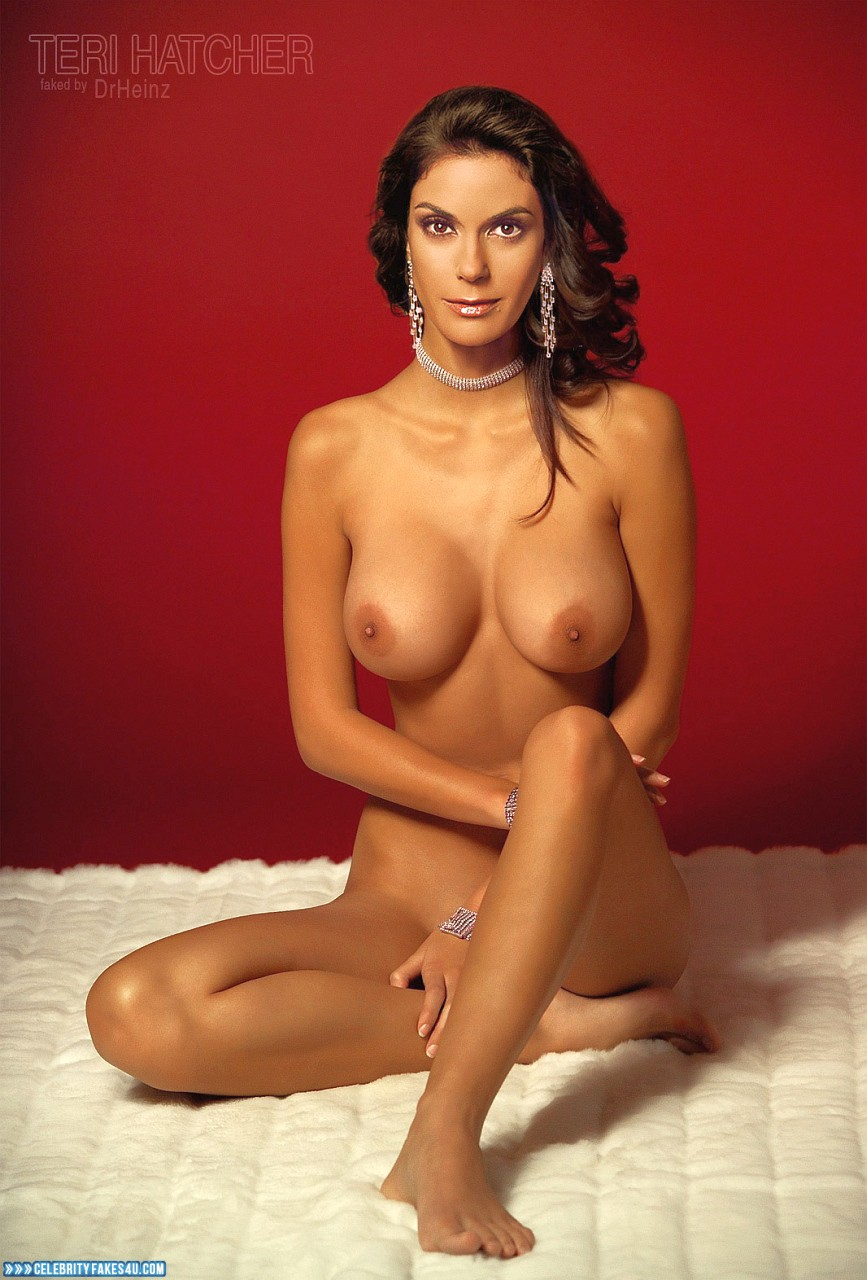 Terry Hatcher Naked photo 6