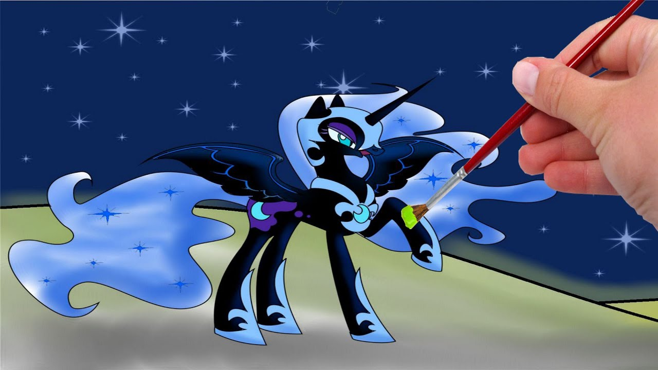 Mlp Coloring Pages Nightmare Moon photo 5