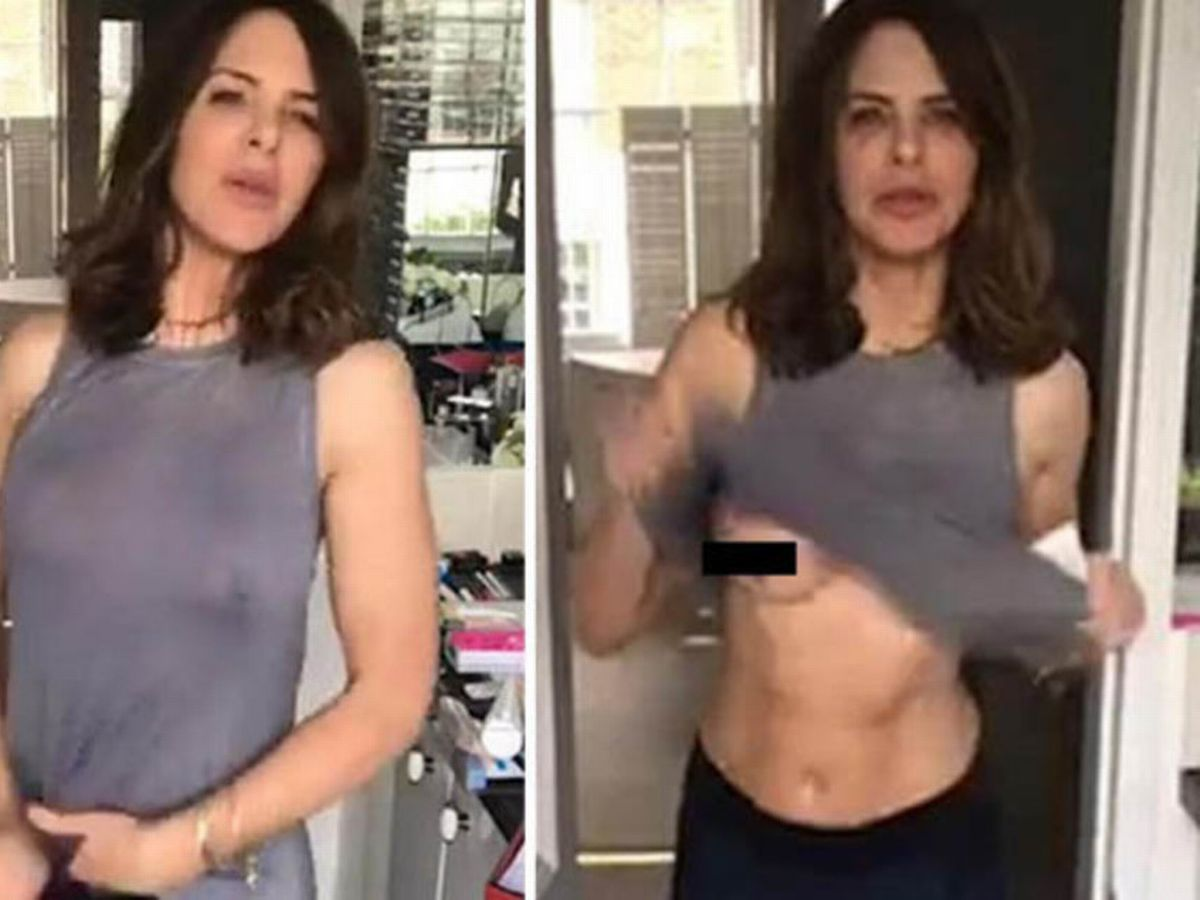 Trinny Woodall Topless photo 8