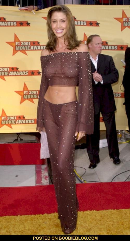 K Michelle See Thru Outfit photo 6