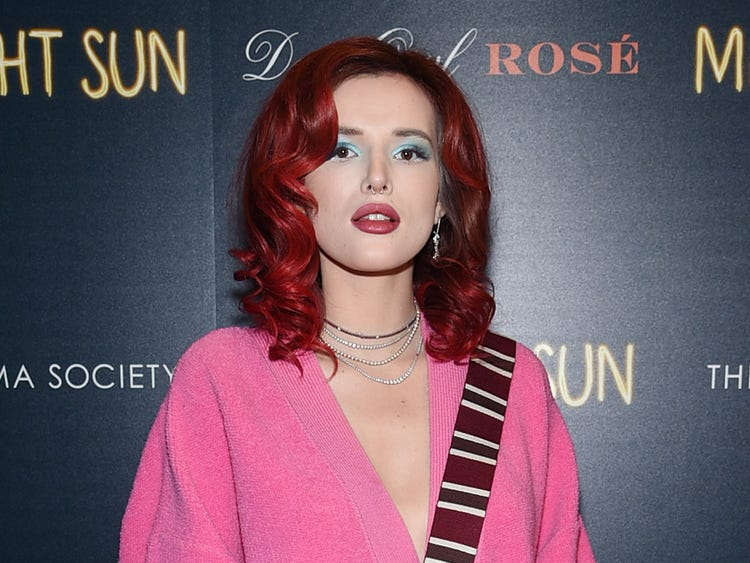 Bella Thorne Posted Topless Photos photo 28