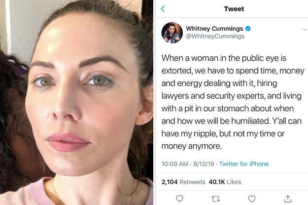 Whitney Cummings Shares Photo Of Her Breast photo 4