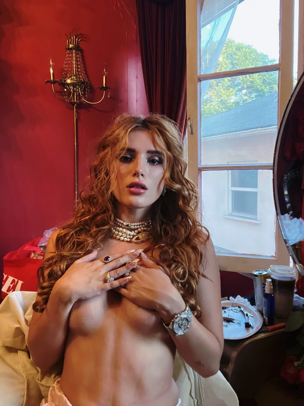 Bella Thorne Posted Topless Photos photo 21