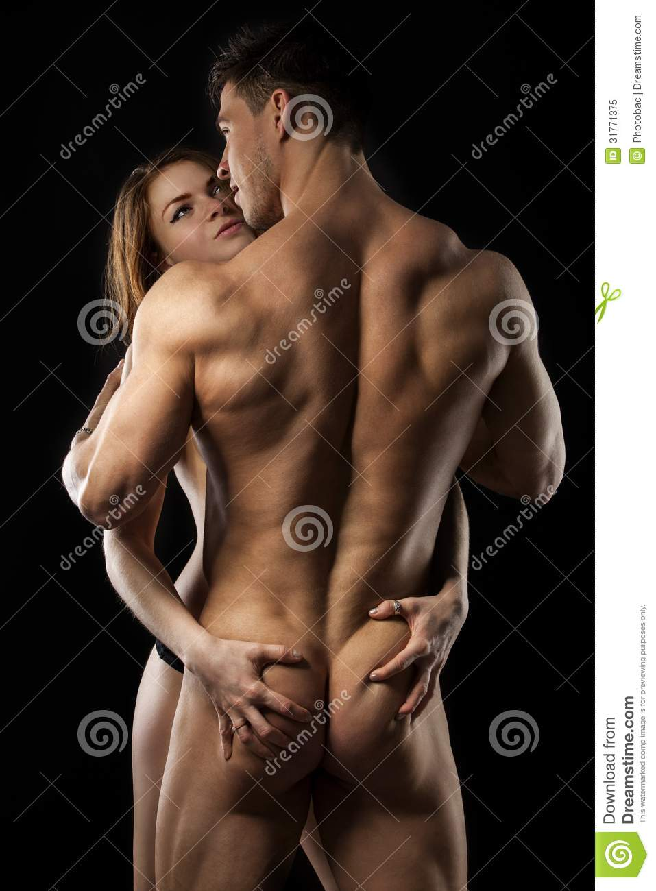 Nude Athletic Couples photo 23