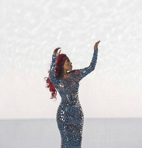K Michelle See Thru Outfit photo 7