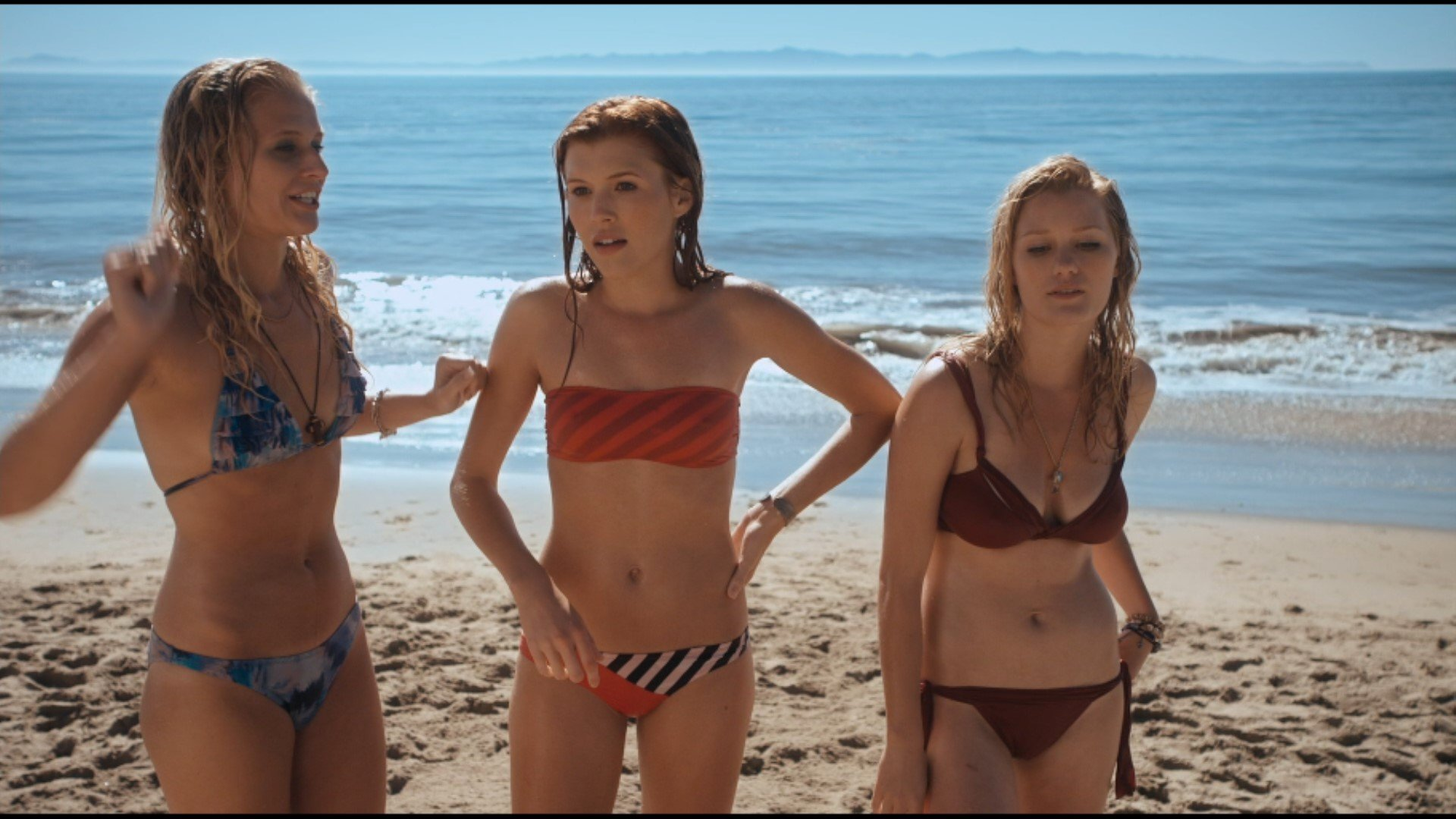 Carly Schroeder Topless photo 1