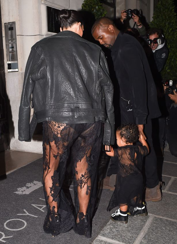 K Michelle See Thru Outfit photo 16
