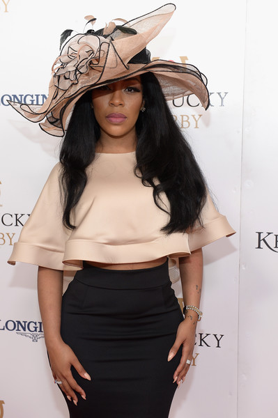 K Michelle See Thru Outfit photo 28