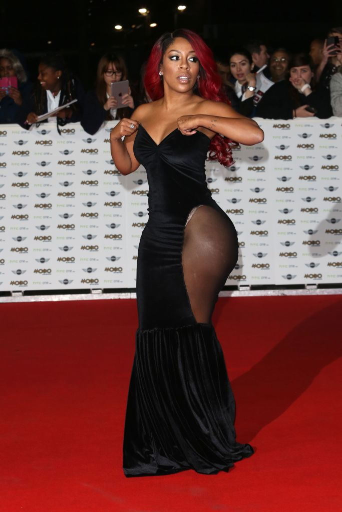 K Michelle See Thru Outfit photo 11