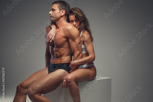 Nude Athletic Couples photo 22