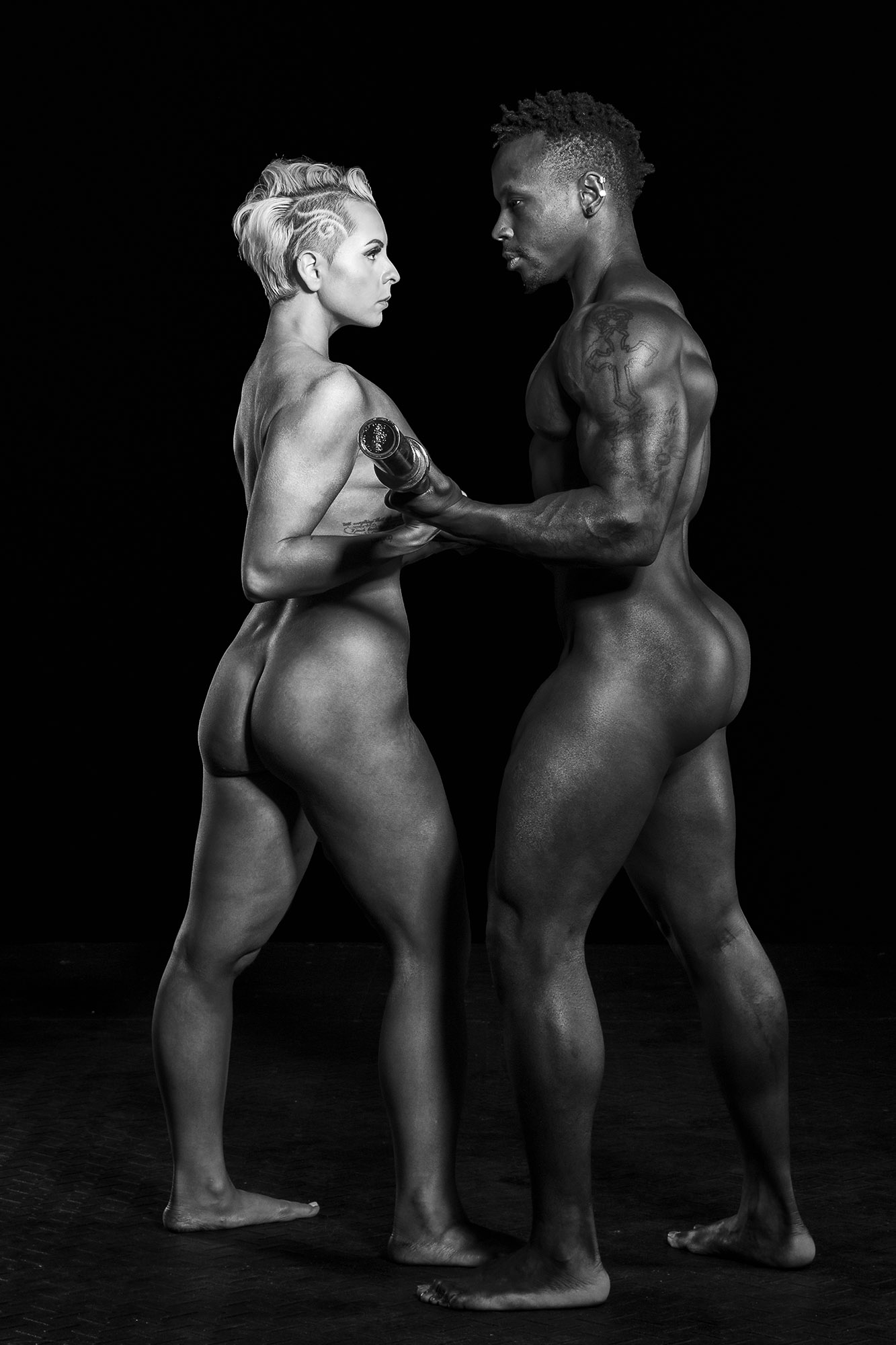 Nude Athletic Couples photo 4